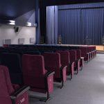 sala kina czyn puste fotele w tle scena