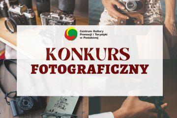 plakat z napisem konkurs fotograficzny