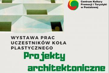 plakat z napisem [projekty architektoniczne