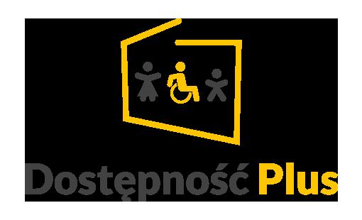 Logo programu Dostępność Plus