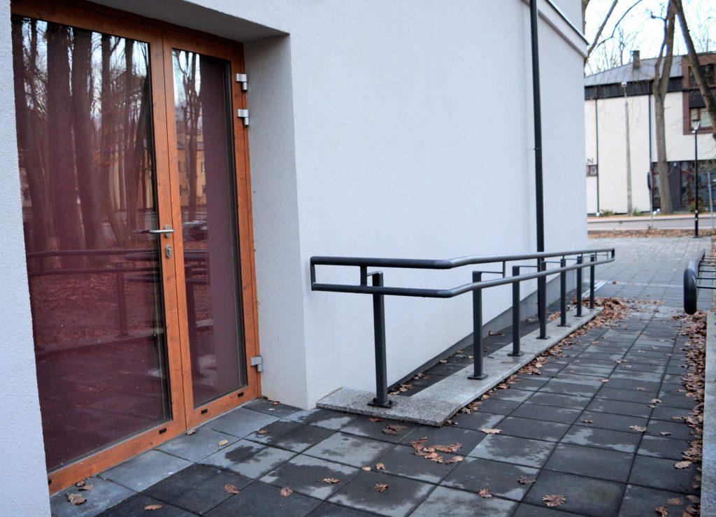 Zdjęcie przedstawia drugie wejście do kina Czyn