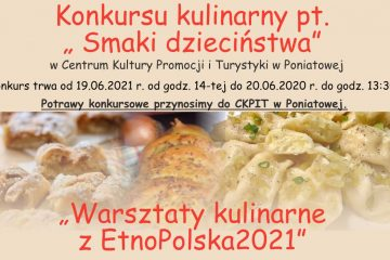 plakat konkurs kulinarny etno polska